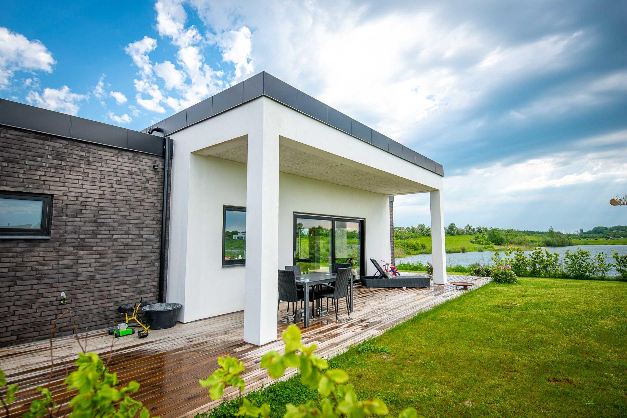 Arkitekttegnet hus i Vejen