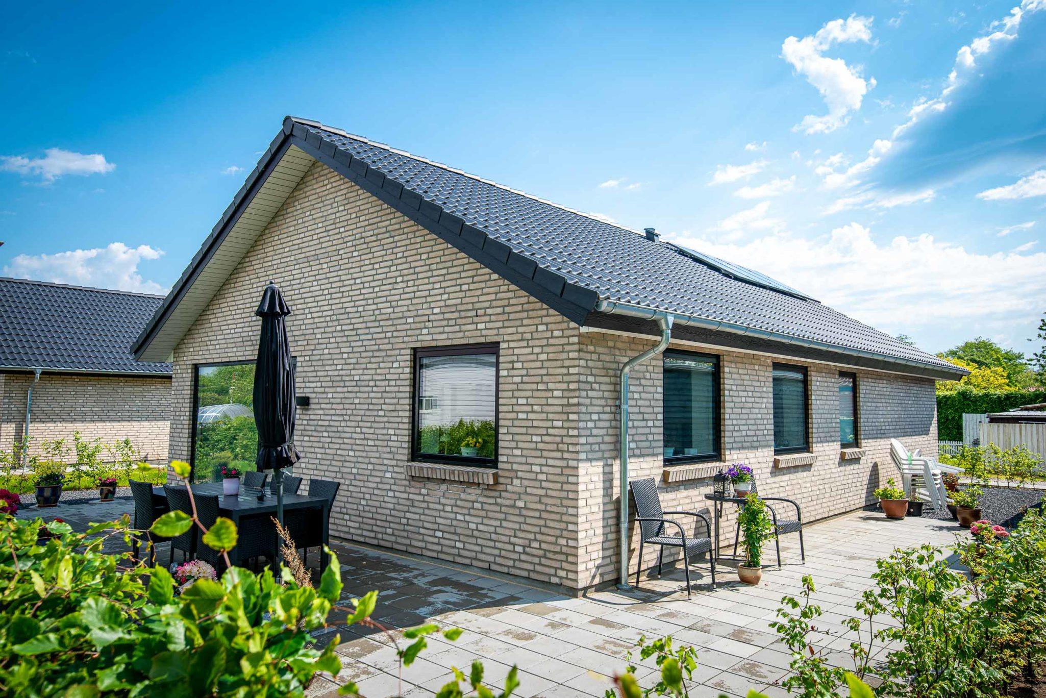 Arkitekttegnet familiehuse i Brørup