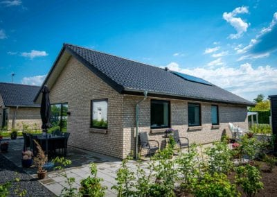 Familiehuse i Brørup